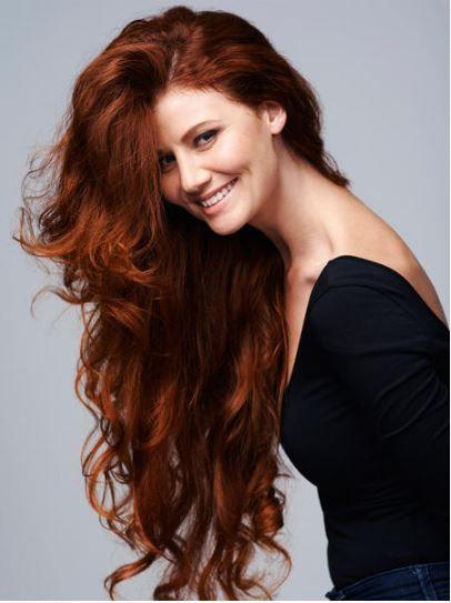 sonbahar'ın vazgeçilmez saç rengi - bakır kızılı- 2