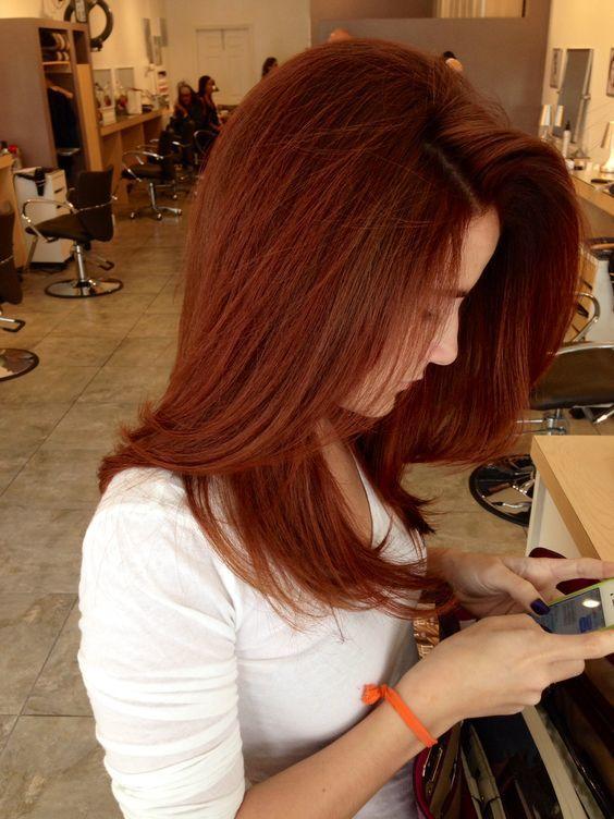 sonbahar'ın vazgeçilmez saç rengi - bakır kızılı- 4
