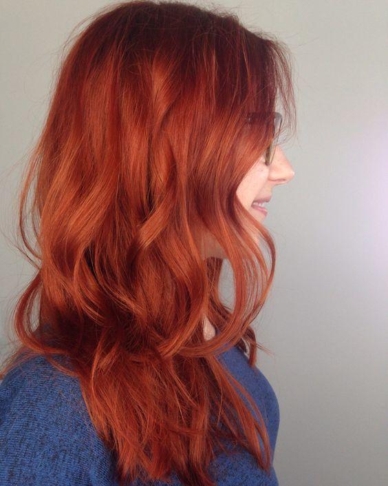 sonbahar'ın vazgeçilmez saç rengi - bakır kızılı- 5