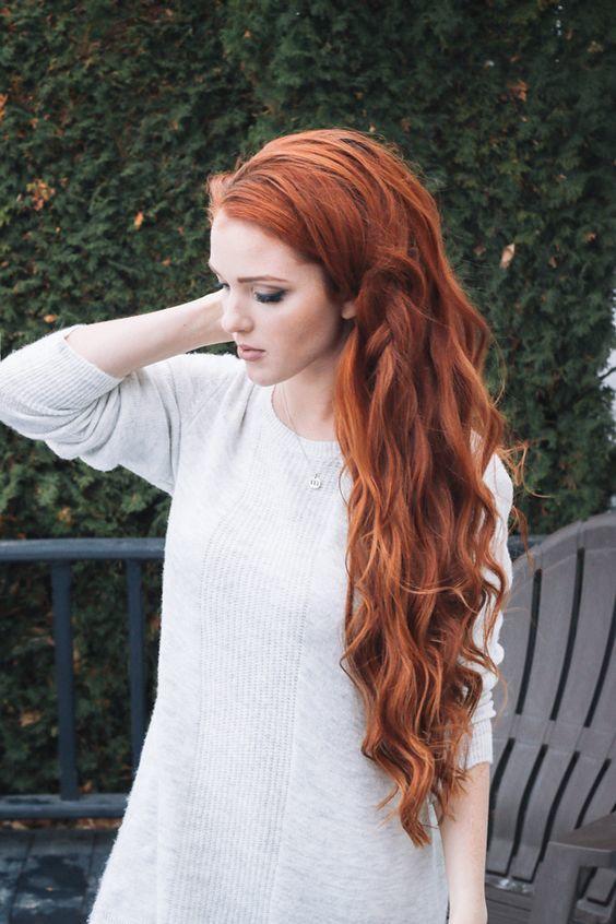 sonbahar'ın vazgeçilmez saç rengi - bakır kızılı- 6