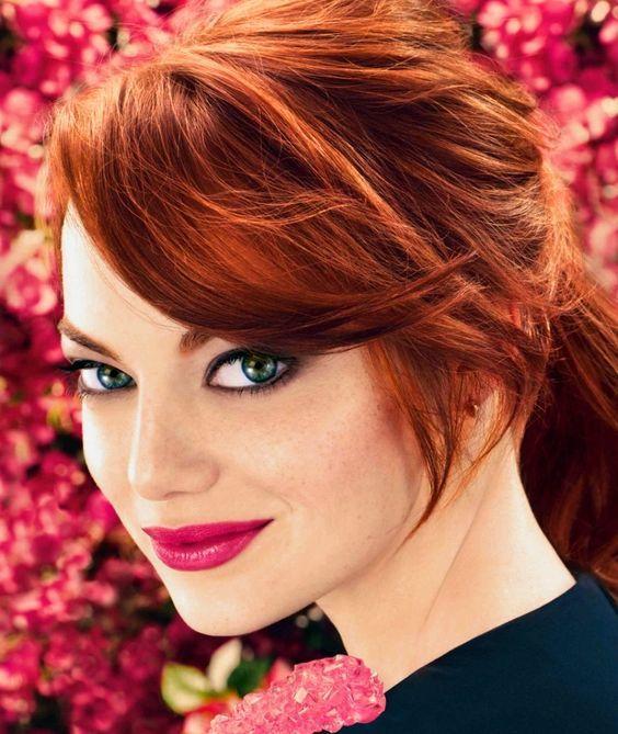 sonbahar'ın vazgeçilmez saç rengi - bakır kızılı- 7