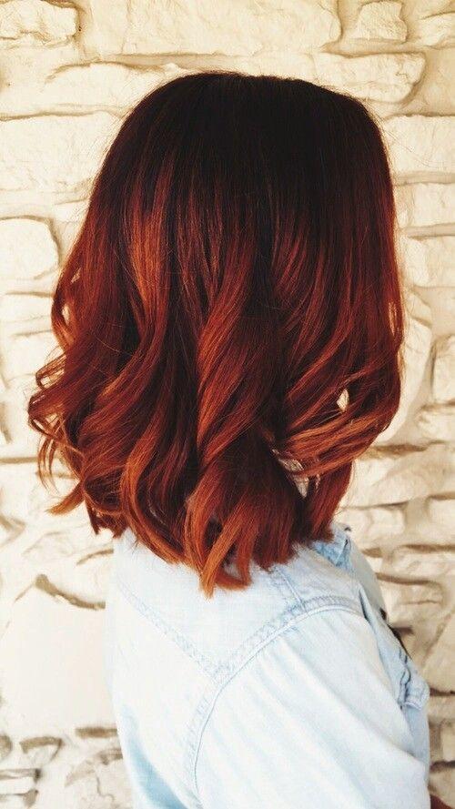 sonbahar'ın vazgeçilmez saç rengi - bakır kızılı- 10