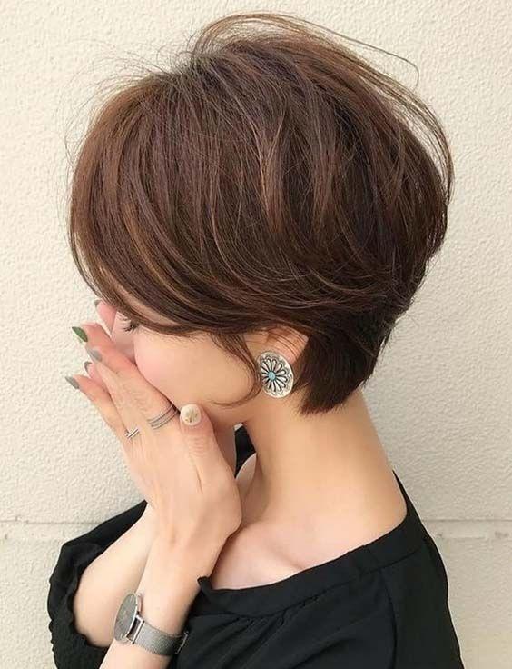 Trend  Kısa saç kesimi