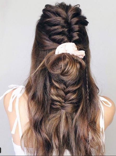 daha uzun, dolgun ve hacimli saçlar i̇çin gl ek saç banları 2