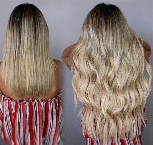 daha uzun, dolgun ve hacimli saçlar i̇çin gl ek saç banları 8