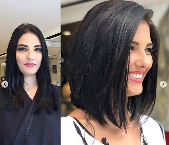 öncesi ve sonrası uzun saç- kısa saç değişimi 5