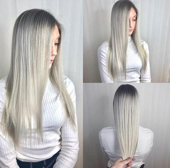 10 saç rengi 2019'da dünya trendi 27