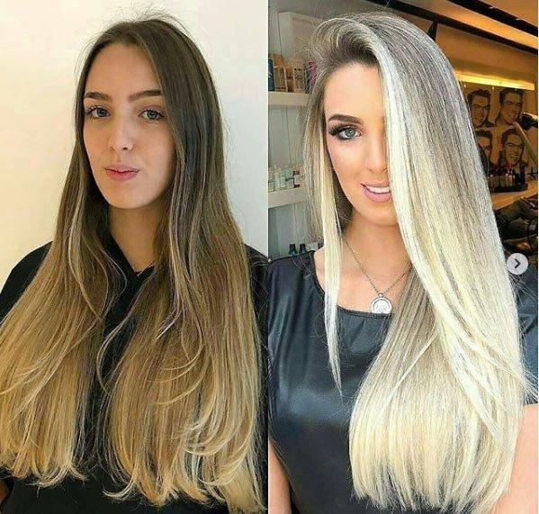 10 saç rengi 2019'da dünya trendi 28