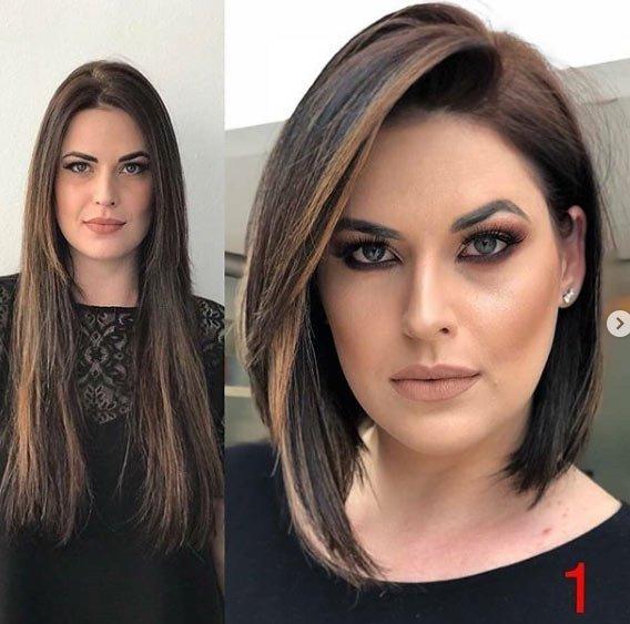 öncesi ve sonrası uzun saç- kısa saç değişimi 11