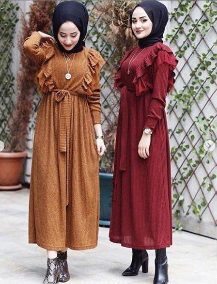 2021 tesettür giyimde kış modası - i̇lham verici 50+ kombin önerisi 27
