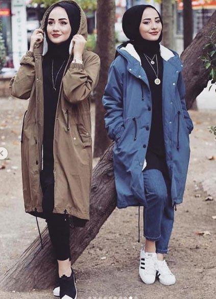 2021 tesettür giyimde kış modası - i̇lham verici 50+ kombin önerisi 28