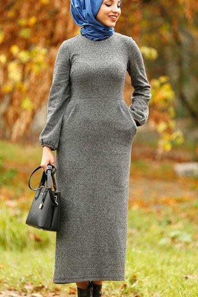 2021 tesettür giyimde kış modası - i̇lham verici 50+ kombin önerisi 45