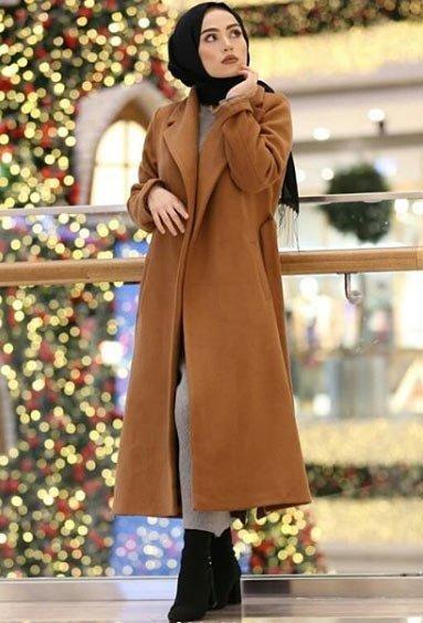 2021 tesettür giyimde kış modası - i̇lham verici 50+ kombin önerisi 53