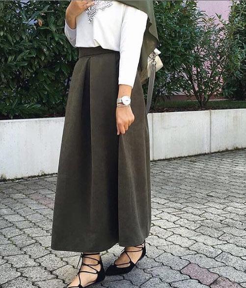 2021 tesettür giyimde kış modası - i̇lham verici 50+ kombin önerisi 56