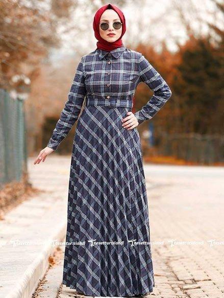 2021 tesettür giyimde kış modası - i̇lham verici 50+ kombin önerisi 61