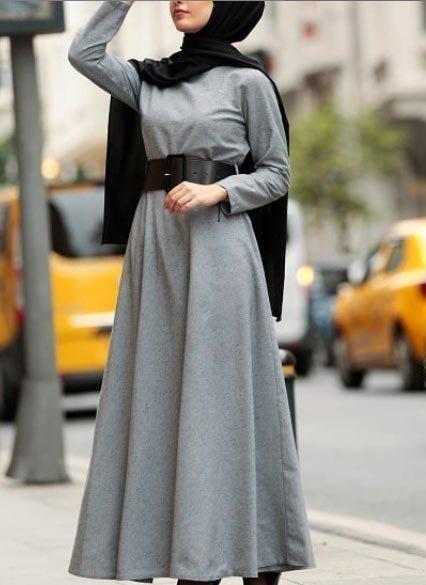 2021 tesettür giyimde kış modası - i̇lham verici 50+ kombin önerisi 62