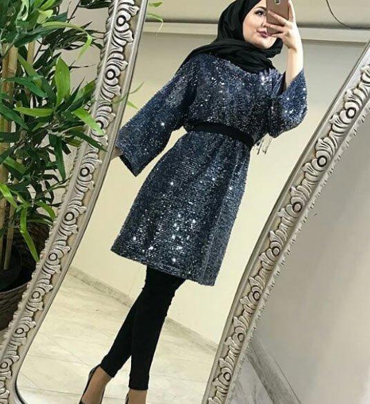 2021 tesettür giyimde kış modası - i̇lham verici 50+ kombin önerisi 63
