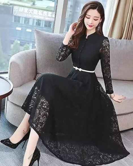 gelmiş geçmiş en güzel 85 tesettür abiye elbise modeli 29