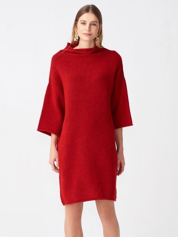 2019 triko elbise modelleri 5