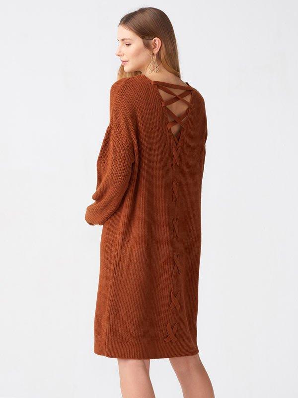2019 triko elbise modelleri 9
