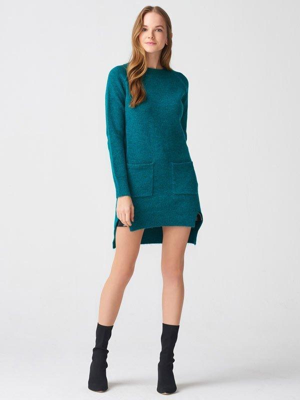 2019 triko elbise modelleri 11