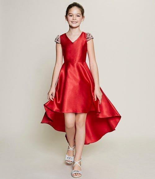 12 yaş abiye elbise modelleri ve fiyatları 9