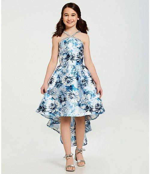 12 yaş abiye elbise modelleri ve fiyatları 18