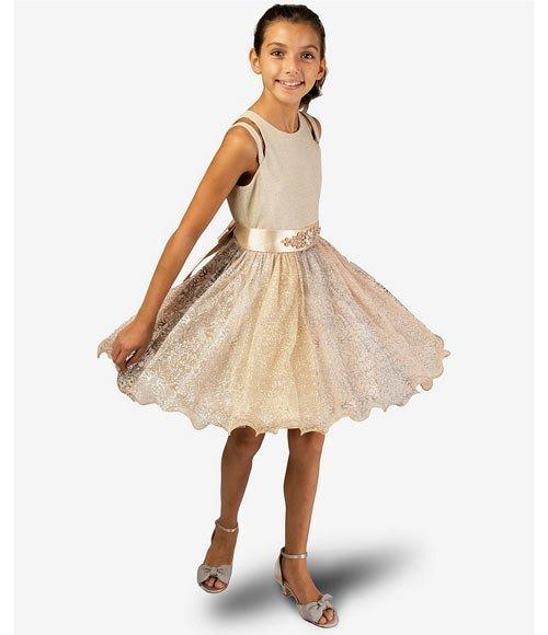12 yaş abiye elbise modelleri ve fiyatları 23