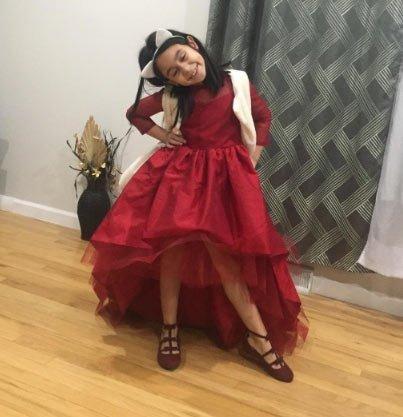 25 adet en güzel  kız çocukları için abiye modeli 11