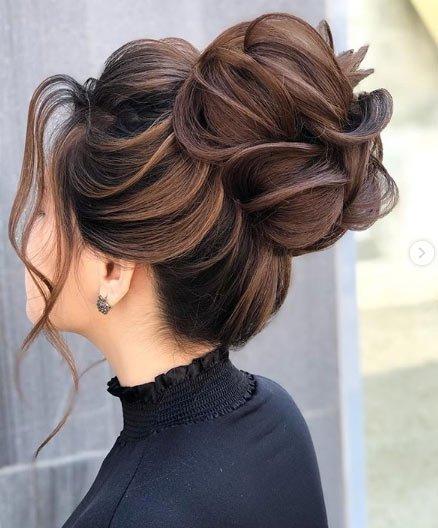 2019 abiye saç modelleri 15
