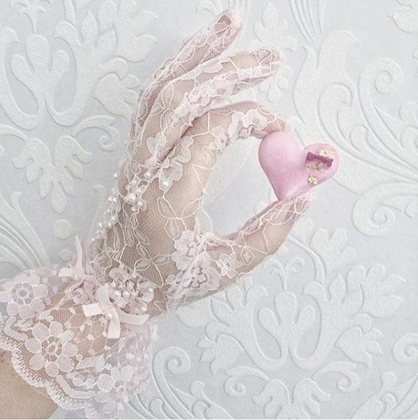 dantel eldiven modası 4