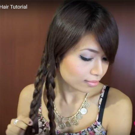 deniz kızı saç kuyruğu nasıl yapılır videolu anlatım 2