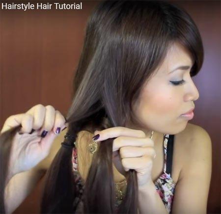 deniz kızı saç kuyruğu nasıl yapılır videolu anlatım 1