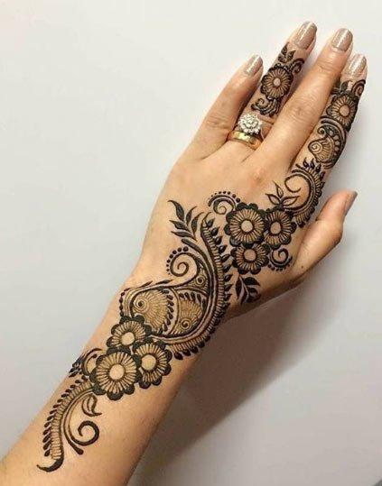 hint kınası dövme desenleri 4