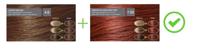 saç boyası karışımları - resimli örnekler 8