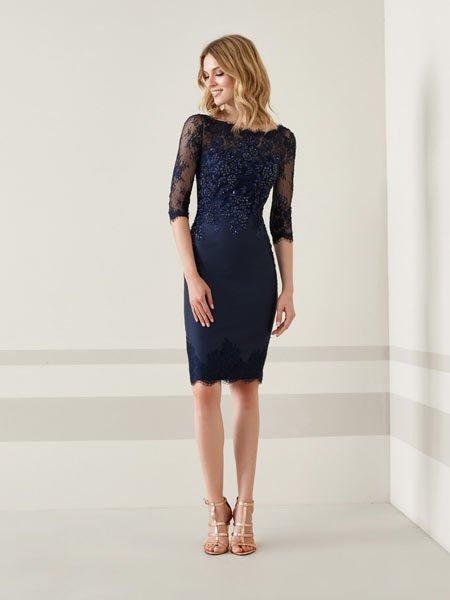 2019 lacivert abiye elbise modelleri 2