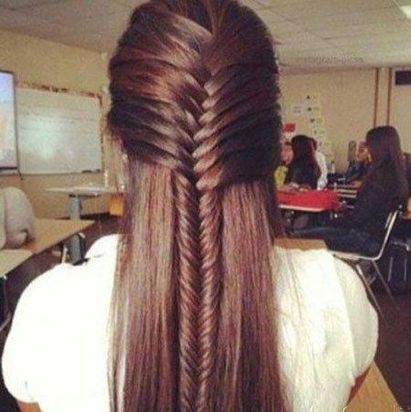 uzun saç kesimi ve modelleri 10
