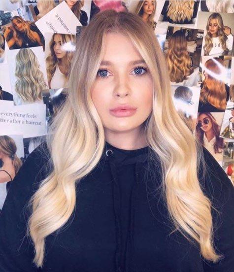 saç boyası karışımları - resimli örnekler 13