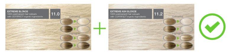 saç boyası karışımları - resimli örnekler 2