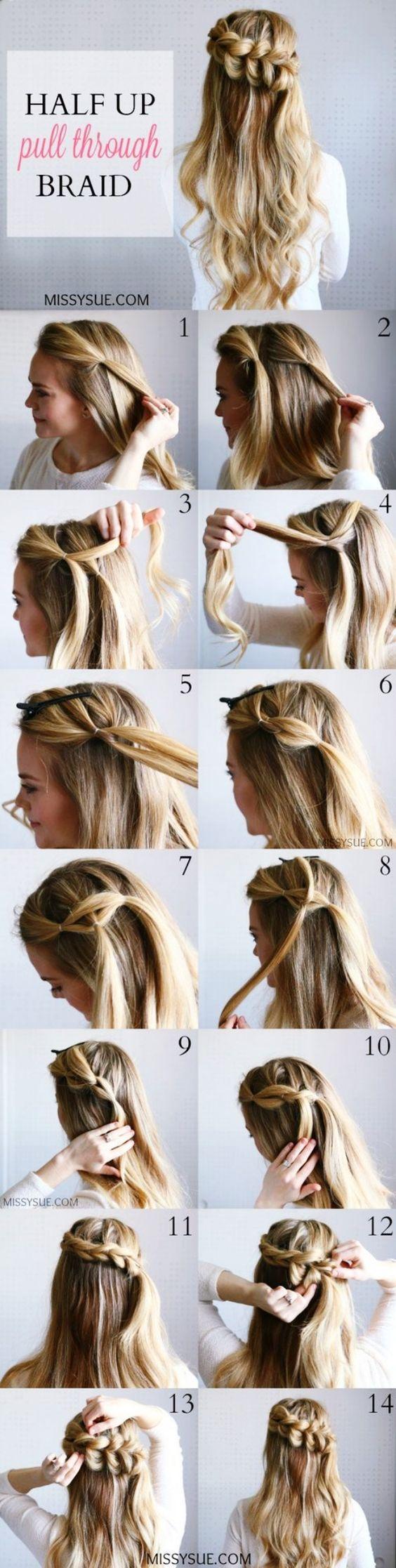 yunan örgülü topuz saç modelleri 3
