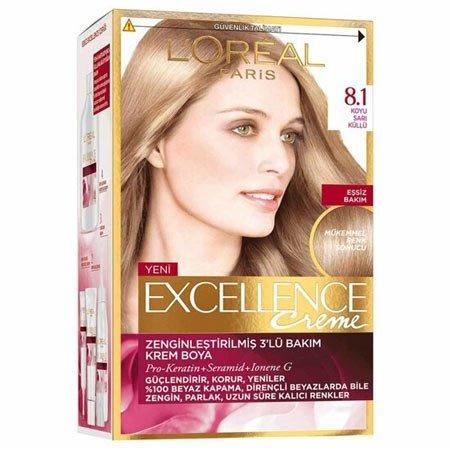 loreal saç boyaları ve renk kataloğu 38