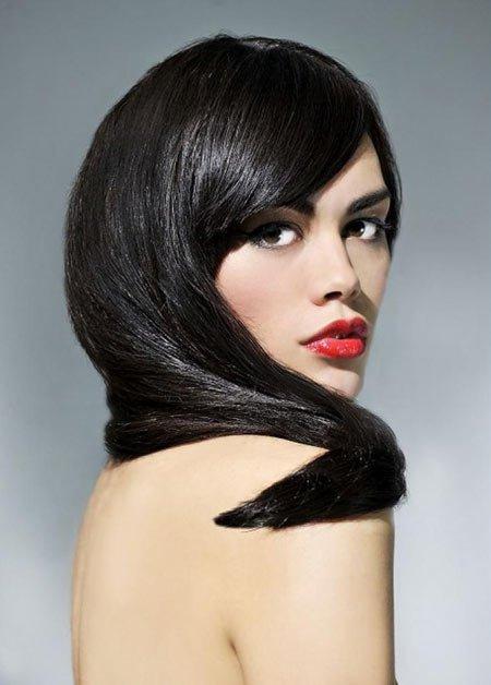 kuzguni-en koyu siyah saç rengi ve modelleri 4