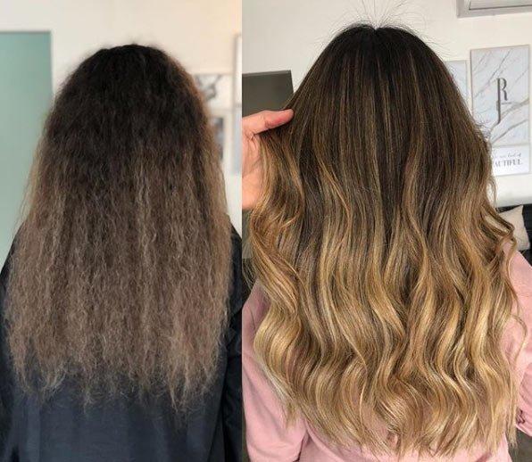 doğal işıltılı saçlar / brushlight saç nasıl yapılır 4