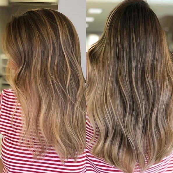 doğal işıltılı saçlar / brushlight saç nasıl yapılır 5