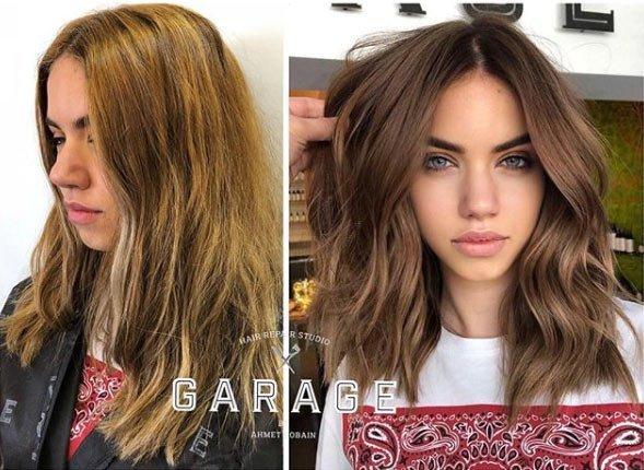 doğal işıltılı saçlar / brushlight saç nasıl yapılır 1