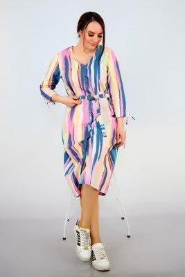 2019 büyük beden elbise modelleri 18