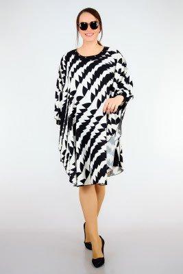 2019 büyük beden elbise modelleri 21