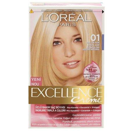 loreal saç boyaları ve renk kataloğu 43