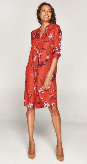 2019 büyük beden elbise modelleri 8