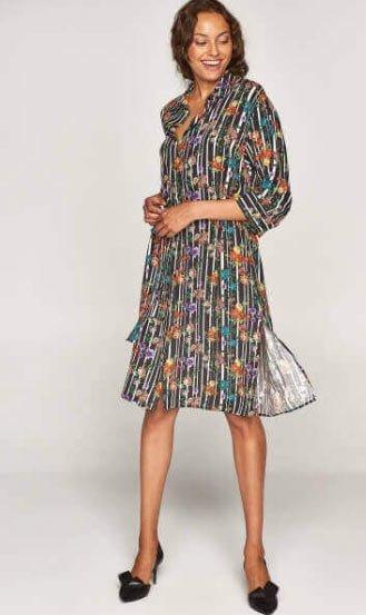 2019 büyük beden elbise modelleri 1